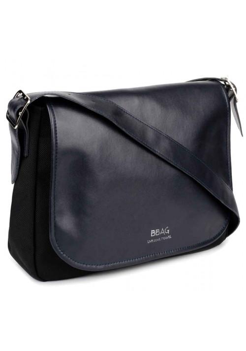 Женская сумка через плечо BBAG SHADDLE BLACKNAVY