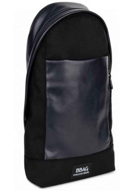 Фото Мужская сумка через плечо BBAG MAGNUM BLACKNAVY