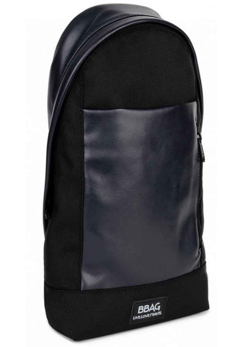 Мужская сумка через плечо BBAG MAGNUM BLACKNAVY