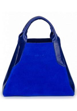 Фото Женская сумка из итальянской кожи BBAG LAURA MINI ROYAL COBALT