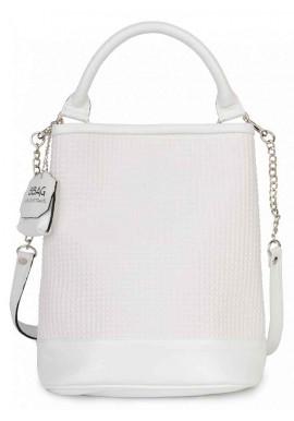 Фото Белая сумка-трансформер женская BBAG JULIYA WHITE