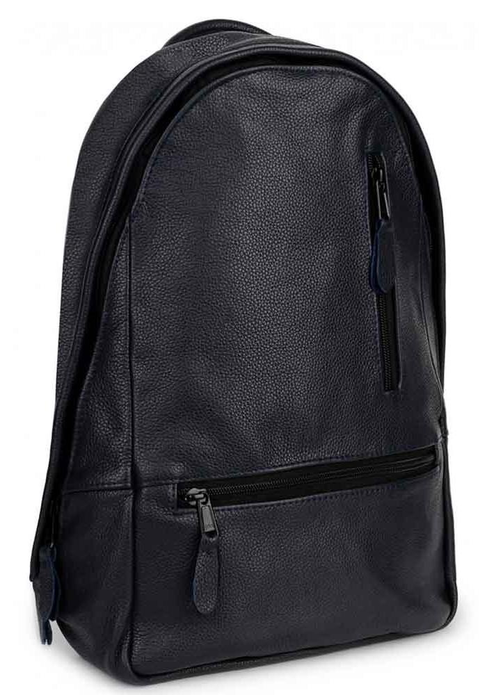 Кожаный городской рюкзак ROPER BASIC NAVY