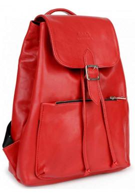 Фото Яркий красный женский рюкзак BBAG REBEL RED