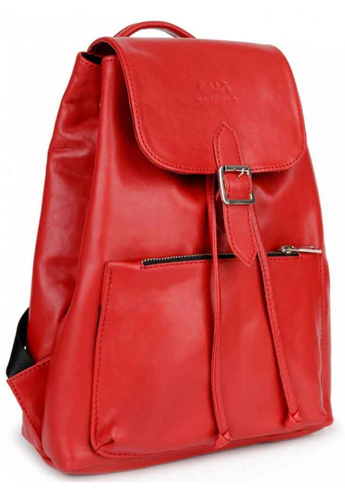 Яркий красный женский рюкзак BBAG REBEL RED