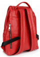 Яркий красный женский рюкзак BBAG REBEL RED, фото №3 - интернет магазин stunner.com.ua