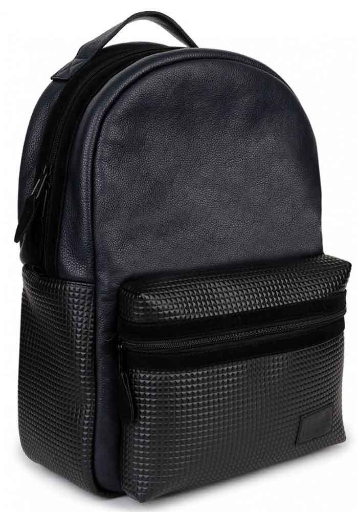 Женский рюкзак из кожи BBAG PIXEL BASIC NAVY