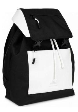Фото Черно-белый женский рюкзак BBAG CROSSTOWN BLACKWHITE