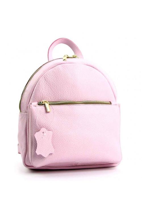 Маленький кожаный женский рюкзачок Viladi 061