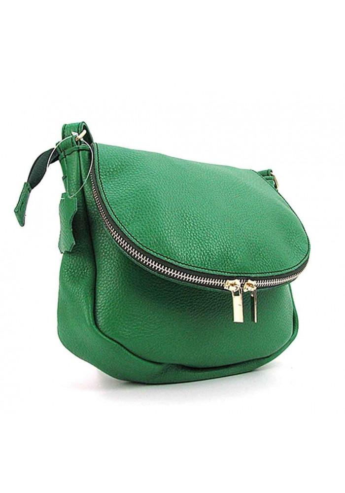 Кожаная сумка на плечо для женщины Viladi 046