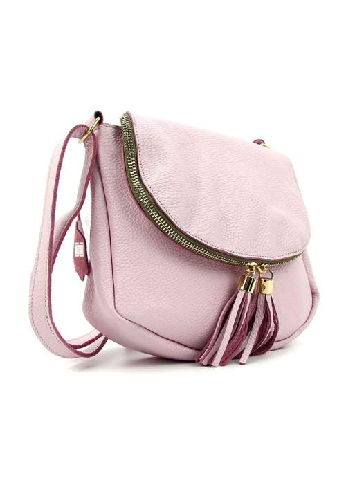 Кожаная сумка на плечо на летний сезон Viladi 059