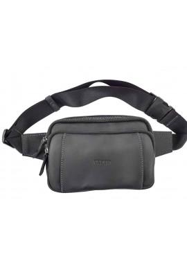 Фото Мужская поясная сумка с накладным карманом VATTO