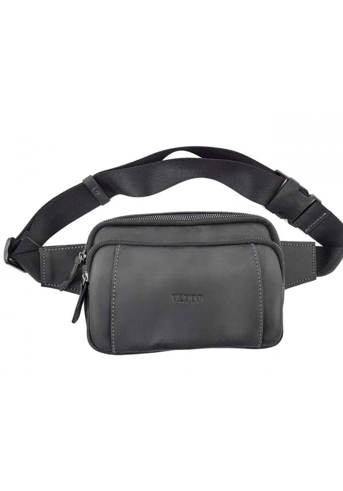 Мужская поясная сумка с накладным карманом VATTO