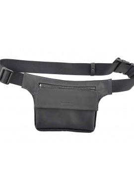Фото Компактная кожаная мужская поясная сумка VATTO