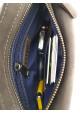 Коричневая кожаная мужская поясная сумка VATTO, фото №8 - интернет магазин stunner.com.ua