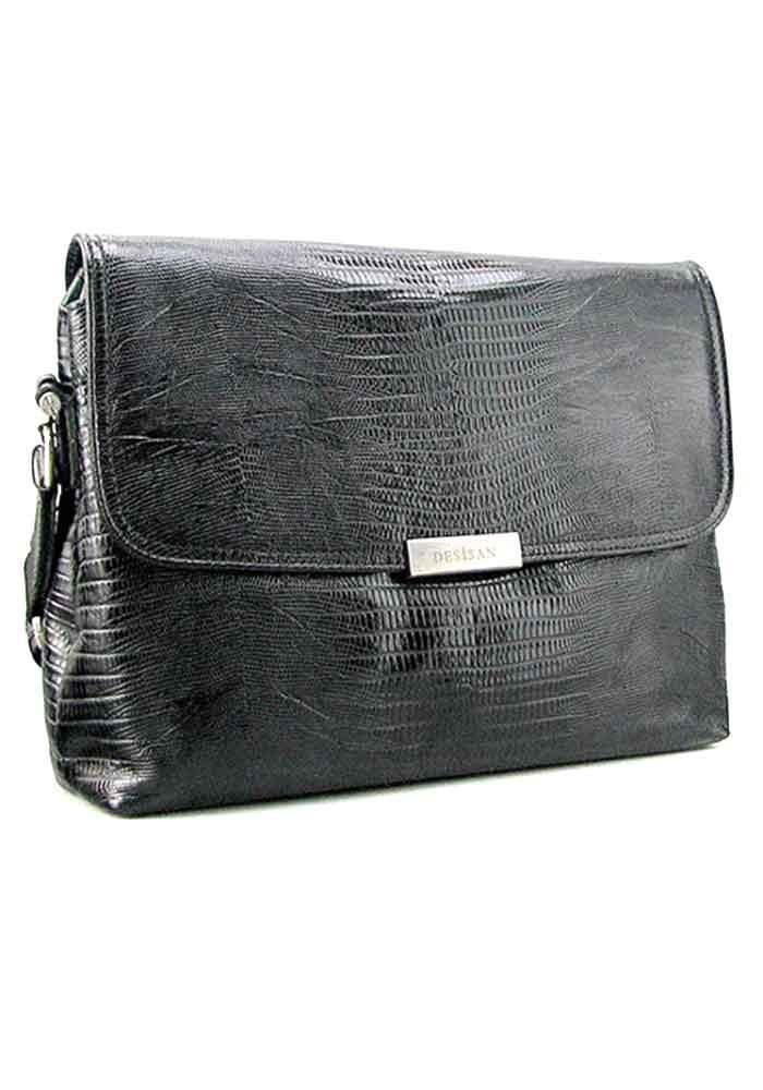 Большая мужская сумка через плечо формата А4 Desisan 332