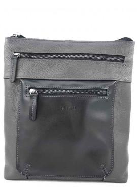 Фото Серая сумка-планшет для мужчины VATTO