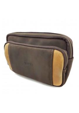Фото Небольшая кожаная сумка на плечо VATTO
