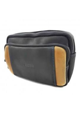 Фото Мужская маленькая кожаная сумка на плечо VATTO