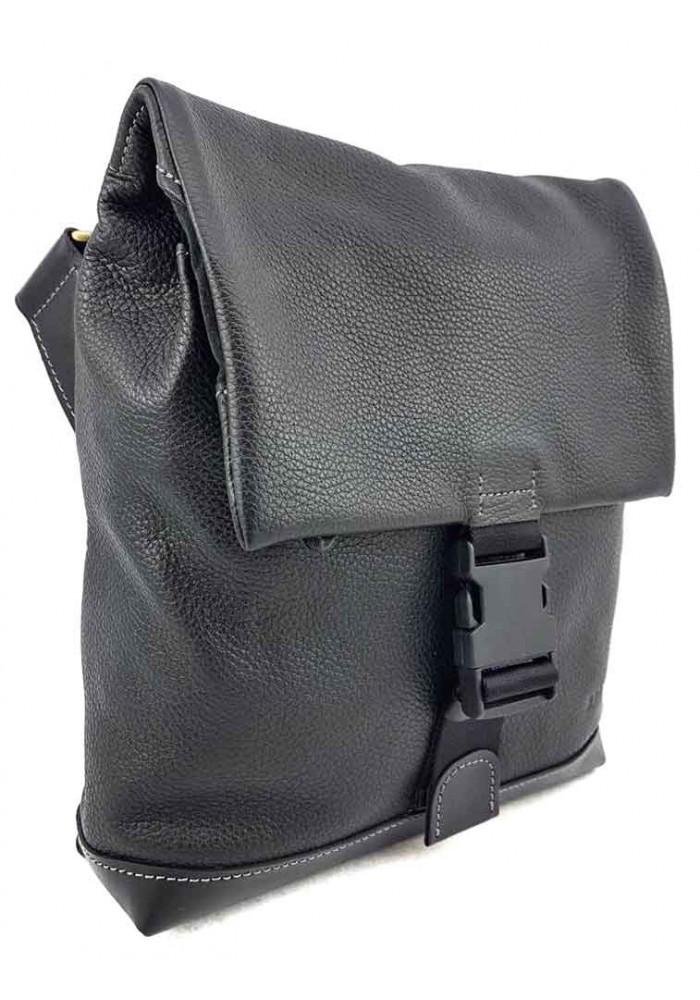 Кожаная сумка через плечо мягкой формы VATTO