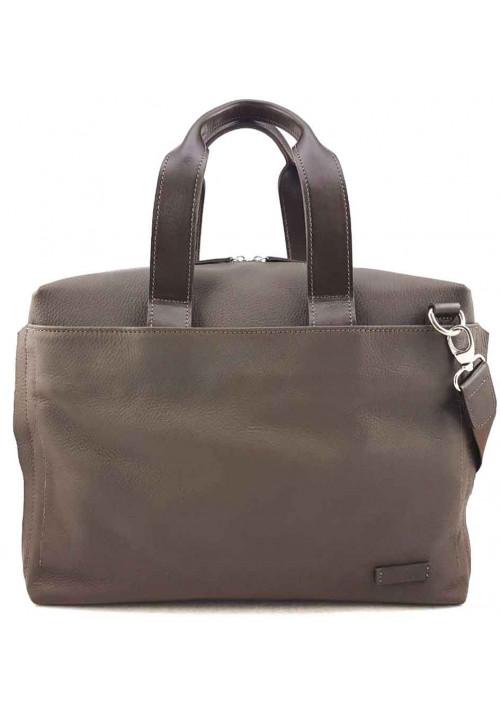 Фирменная мужская сумка Vatto серая