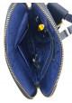 Компактная сумочка на плечо VATTO синяя матовая, фото №8 - интернет магазин stunner.com.ua