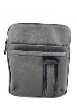 Фото Мужская сумка с ремнем на плечо VATTO серая