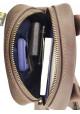 Коричневая сумка на плечо мужская кожаная Vatto с ручкой