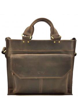 Фото Мужской кожаный портфель модерн VATTO коричневый