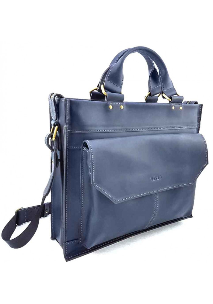 6684c784c665 ... Синий кожаный портфель для мужчины VATTO, фото №2 - интернет магазин  stunner.com ...