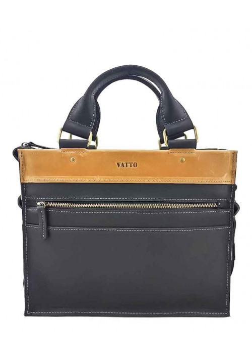 Модный мини-портфель для мужчины из кожи VATTO