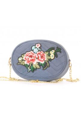 Фото Велюровая сумка на пояс женская Betty Pretty
