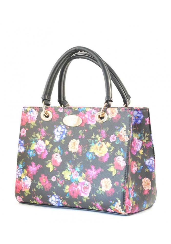Женская сумка с цветочками Betty Pretty