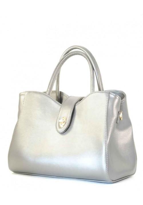 Женская сумка серебряного цвета Betty Pretty