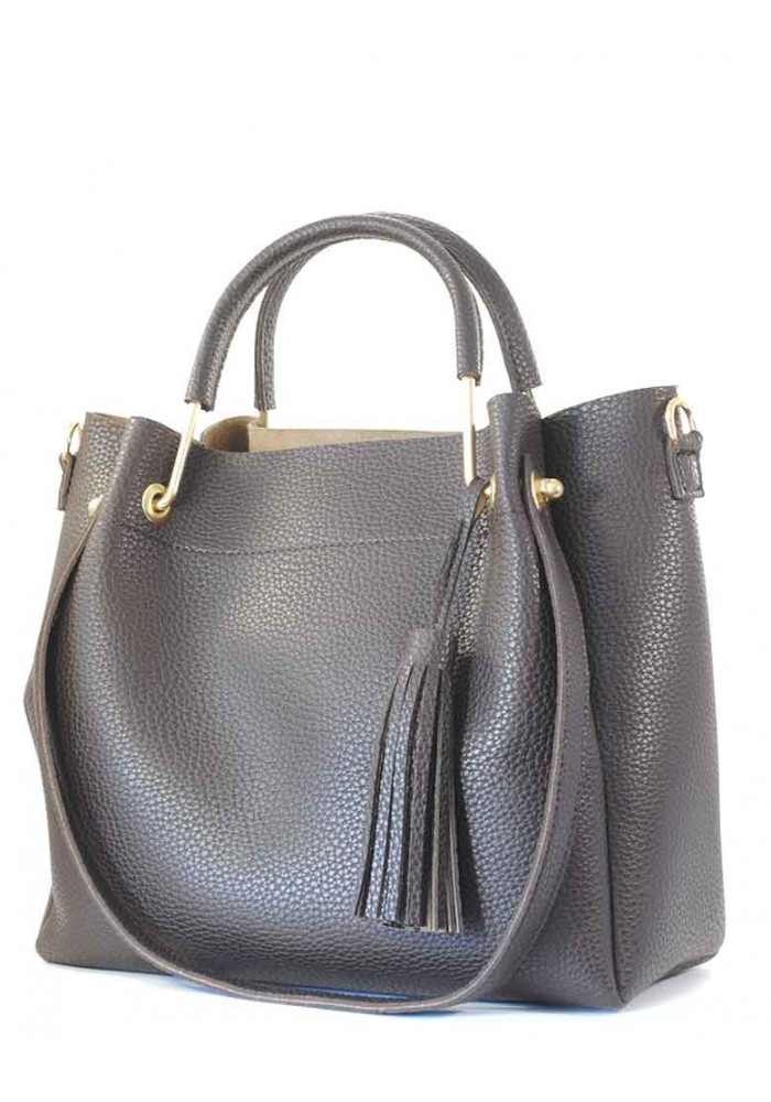 Женская сумка с металлическими ручками Betty Pretty