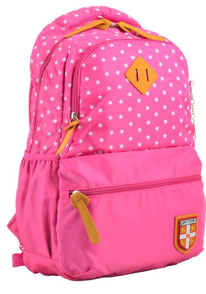 Молодежный рюкзак для девушки YES Cambridge CA 144 розовый