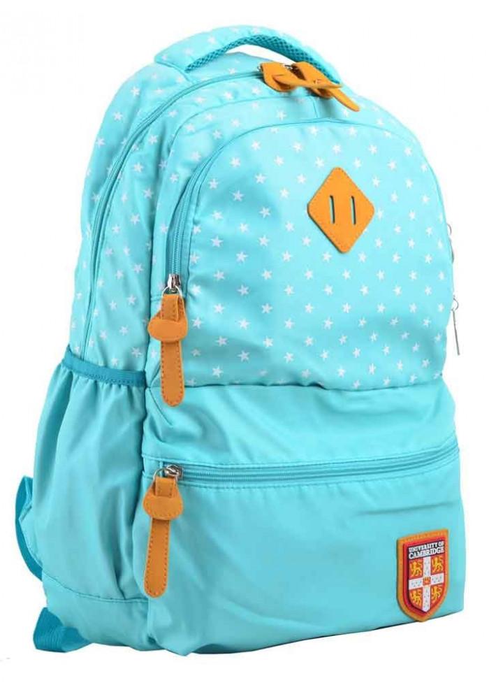 Летний молодежный рюкзак YES Cambridge CA 144 бирюзовый