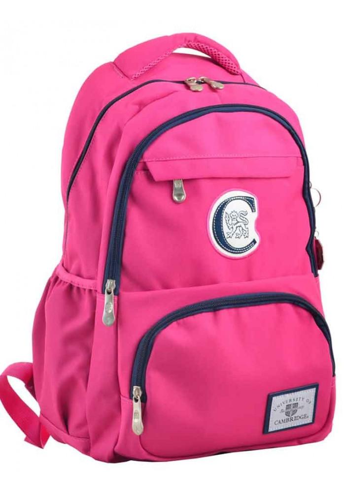 Розовый рюкзак для молодой девушки YES Cambridge CA 151