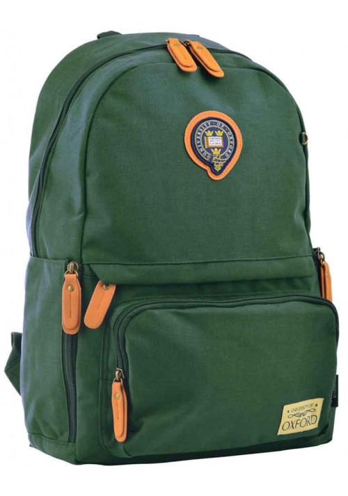 Зеленый молодежный рюкзак YES Oxford OX 342