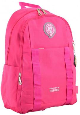 Фото Рюкзак для девушки розового цвета YES Oxford OX 348