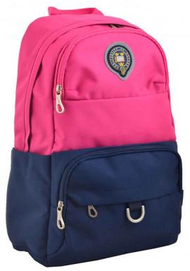 Фото Розово-синий молодежный рюкзак YES Oxford OX 355