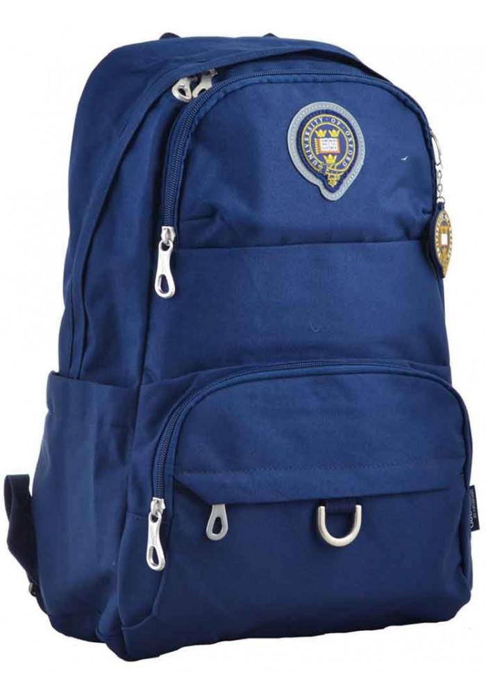 Молодежный рюкзак темно-синего цвета YES Oxford OX 355