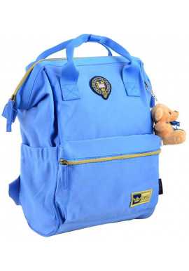 Фото Большой голубой рюкзак YES Oxford OX 385
