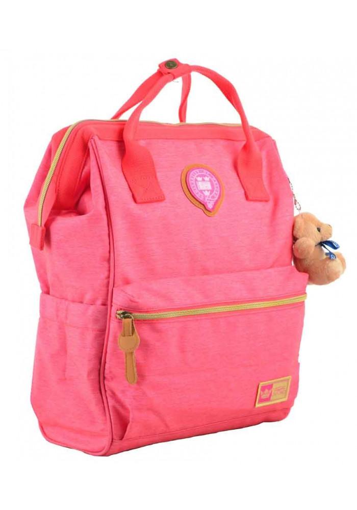 Рюкзак розового цвета с ручками YES Oxford OX 385