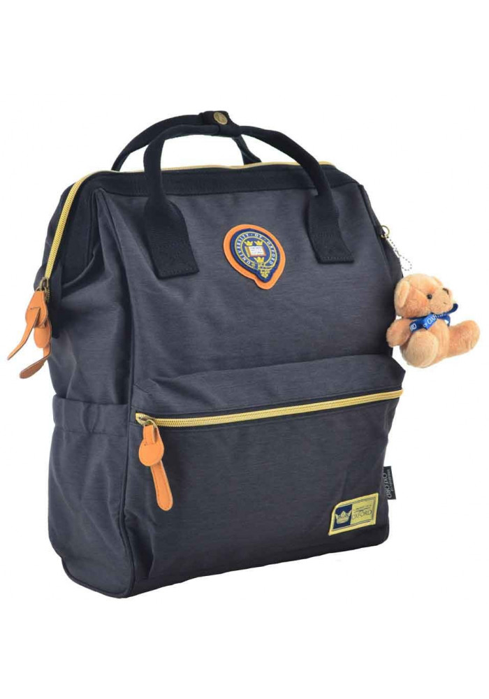 Рюкзак черного цвета с ручками YES Oxford OX 386