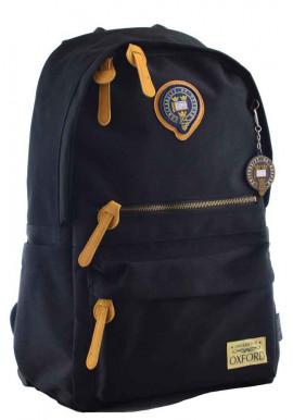 Фото Темный молодежный рюкзак YES Oxford OX 402