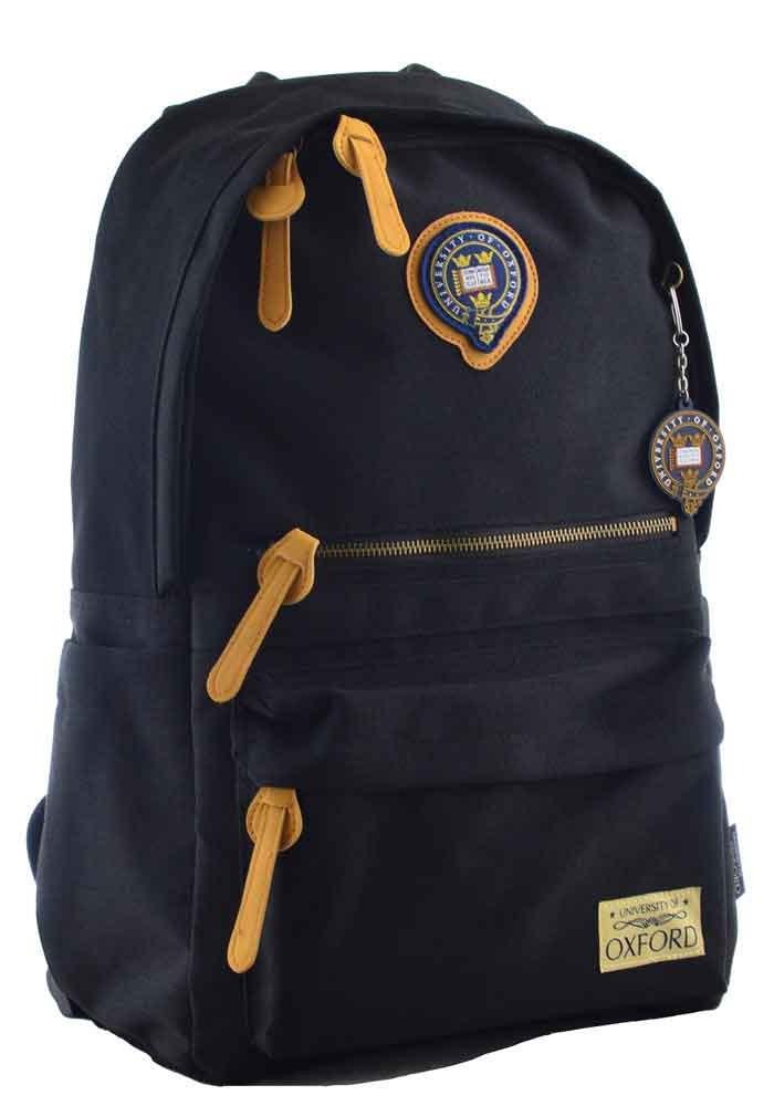 Темный молодежный рюкзак YES Oxford OX 402