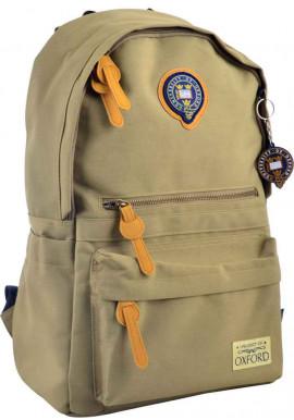 Фото Молодежный рюкзак цвета хаки YES Oxford OX 402