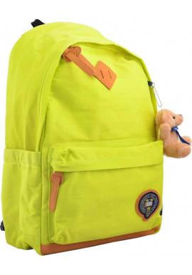 Фото Яркий желтый молодежный рюкзак YES Oxford OX 404
