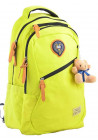Молодежный желтый рюкзак на лето YES Oxford OX 405