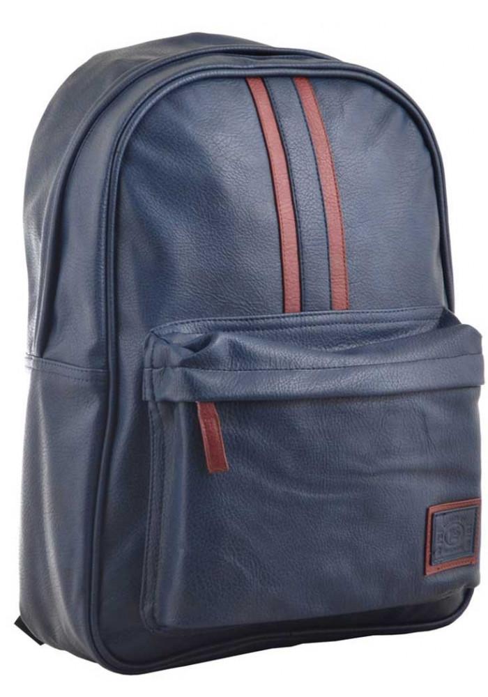 Молодежный рюкзак из экокожи YES Infinity ST-16  Dark Blue